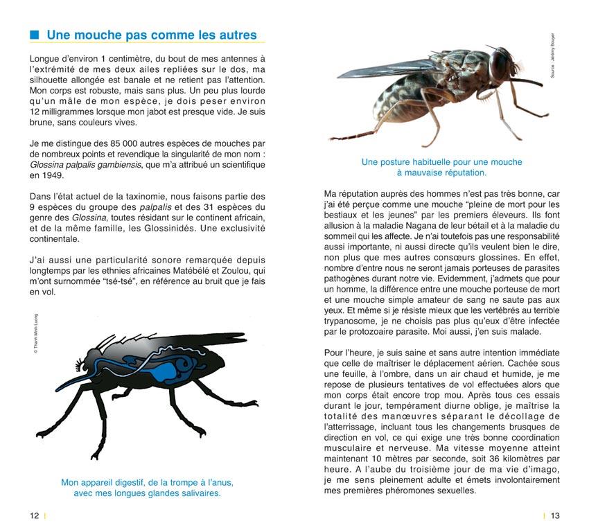 Journal intime d'une mouche tsé-tsé / Contes scientifiques ...